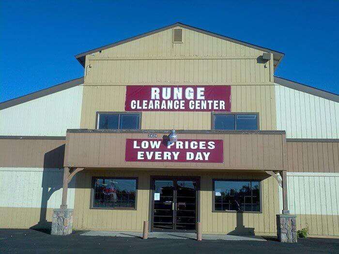 Runge Clearance Center